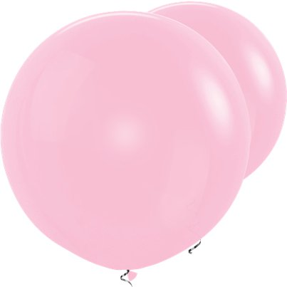 "Pink Giant Balloons - 36"" Latex"