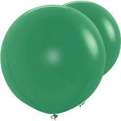 "Forest Green Giant Balloons - 36"" Latex"