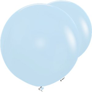 Pastel Blue Giant Balloons - 36
