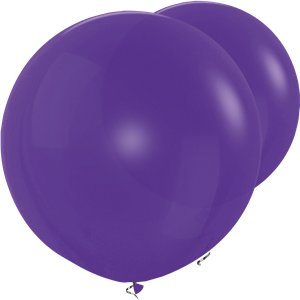 Violet Giant Balloons - 36