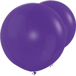 "Violet Giant Balloons - 36"" Latex"