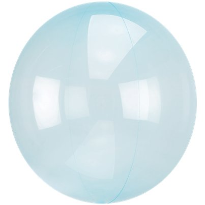 Crystal Clearz Blue Balloon - 18