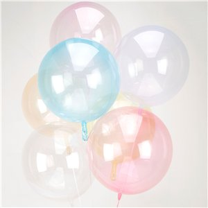 Crystal Clearz Light Pink Balloon - 18