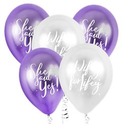 "Bride Squad Hen Party Balloons - 12"" Latex"