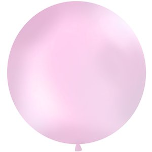 Pastel Pink Giant Latex Balloon - 1m