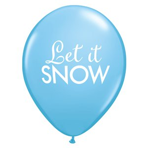 Let It Snow Balloons - 11