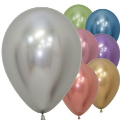"Assorted Reflex Balloons - 12"" Latex"