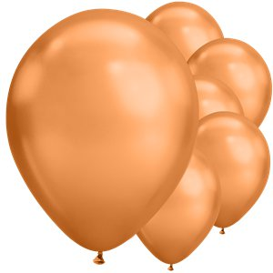 Copper Chrome Balloons - 11