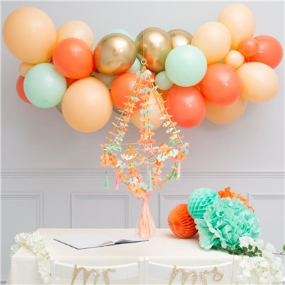 Mint & Coral Bublegum Balloon Cloud Kit