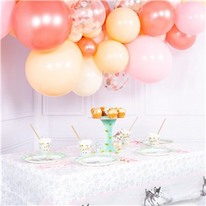 Rose Gold Blush Bubblegum Balloon Cloud Kit