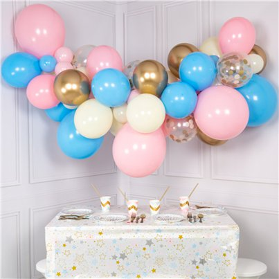 Twinkle Twinkle Pastel & Gold Bubblegum Balloon Cloud Kit