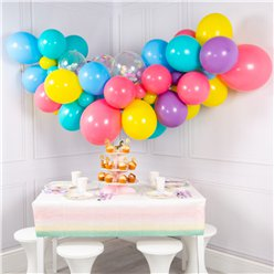 Vibrant Pastel Bubblegum Balloon Cloud Kit