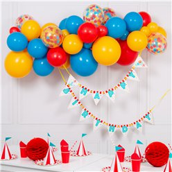 Primary Bright Bubblegum Balloon Cloud Kit