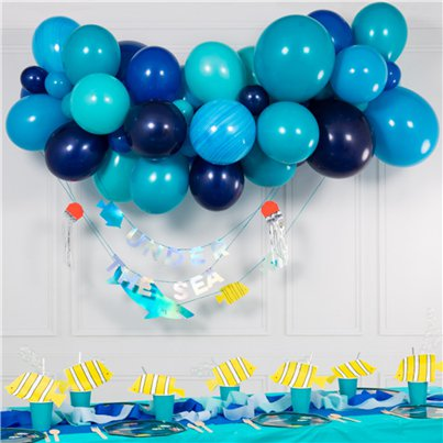 Blue Mix Bubblegum Balloon Cloud Kit