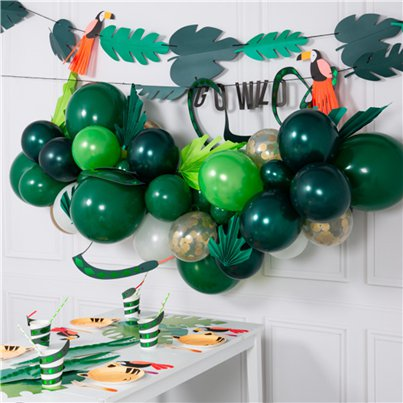 Green Mix Bubblegum Balloon Cloud Kit