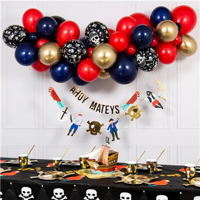 Pirate Bubblegum Balloon Cloud Kit