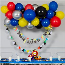 Primary & Chrome Bubblegum Balloon Cloud Kit