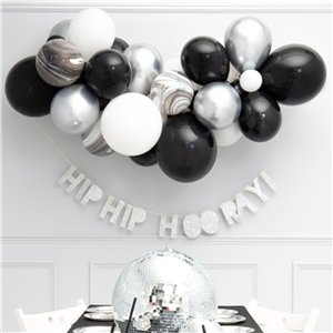 Monochrome Bubblegum Balloon Cloud Kit