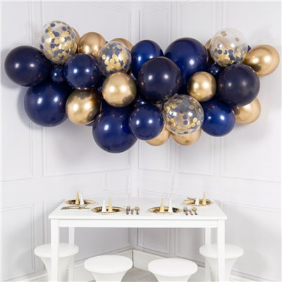 Midnight Blue Bubblegum Balloon Cloud Kit