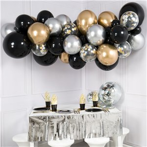 Glitz & Glam Chrome Mix Bubblegum Balloon Cloud Kit