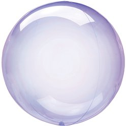 "Crystal Clearz Petite Purple  - 12"" Packaged"