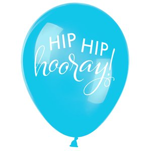 Hip Hip Hooray Pastel Mix Balloons - 11