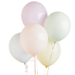 "Pastel Balloons - 12"" Latex"