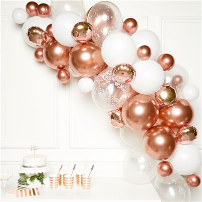 Rose Gold BalloonArch Garland