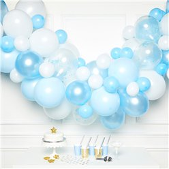 Blue Balloon Arch Garland