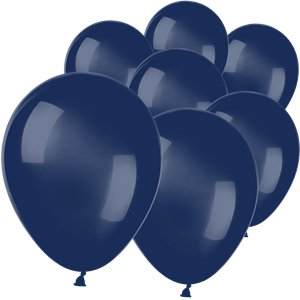 Navy Blue Mini Balloons - 5