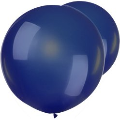 "Navy Blue Giant Balloons - 36"" Latex"