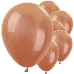 "Copper Balloons - 12"" Latex"