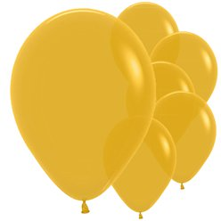 "Mustard Balloons - 12"" Latex"