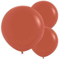 "Terracotta Balloons - 24"" Latex"