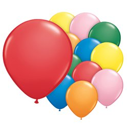 "Assorted Balloons - 5"" Latex"