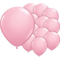 Pink Balloons - 5'' Latex