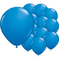 Dark Blue Balloons - 5'' Latex