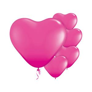Wild Berry Heart Balloons - 6'' Latex