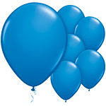 "Dark Blue Balloons - 11"" Latex"