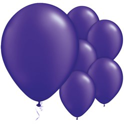 Purple Quartz Balloons - 11'' Latex