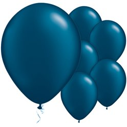 Midnight Blue Balloons - 11'' Latex
