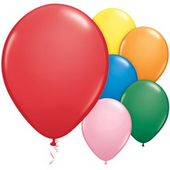 "Standard Balloons Assortment - 11"" Latex"