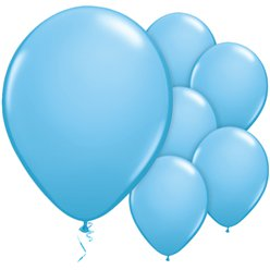 Pale Blue Balloons - 11'' Latex