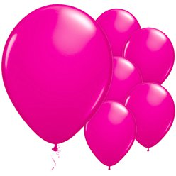 "Wild Berry Balloons - 11"" Latex"