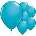 Tropical Teal Balloons - 11'' Latex