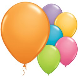 "Festival Balloons Assortment - 11"" Latex"