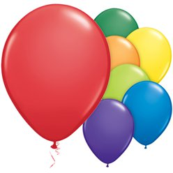 "Carnival Balloons Assortment - 11"" Latex"