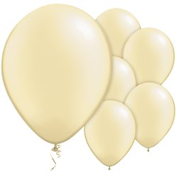 Ivory Pearl Balloons - 11'' Latex