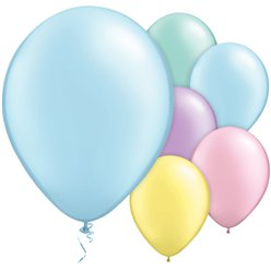 "Pastel Pearl Balloons Assortment - 11"" Latex"