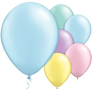 Pastel Pearl Balloons Assortment - 11